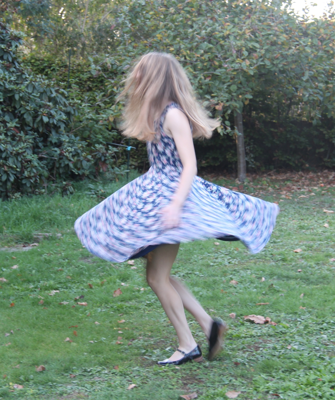 Elizabeth dress, een jurk met zwier enzwaai.
